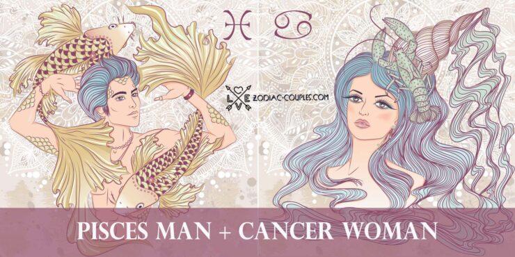 pisces man cancer woman