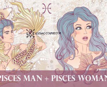 pisces man pisces woman