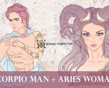 scorpio man aries woman