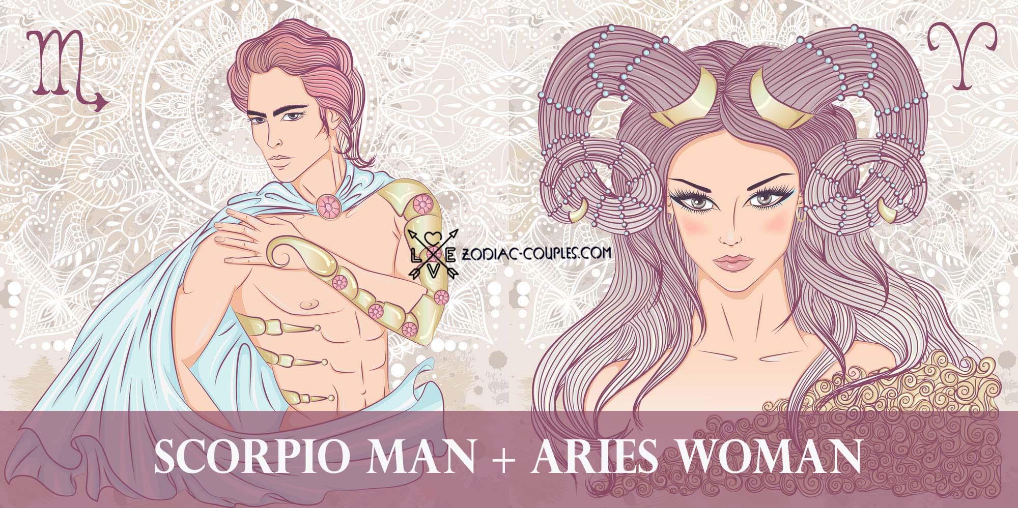 Aquarius couples man woman scorpio Aquarius and