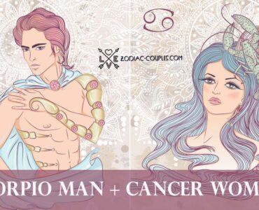 scorpio man cancer woman