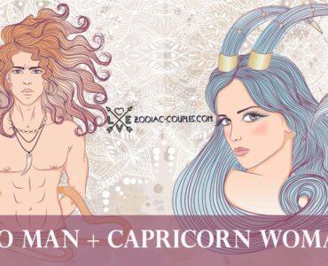 leo man capricorn woman
