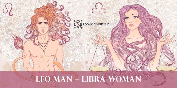 leo man libra woman