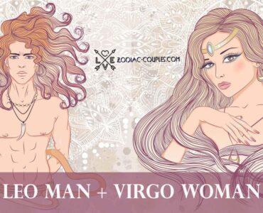 leo man virgo woman
