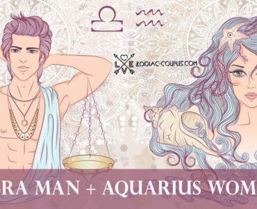 libra man aquarius woman