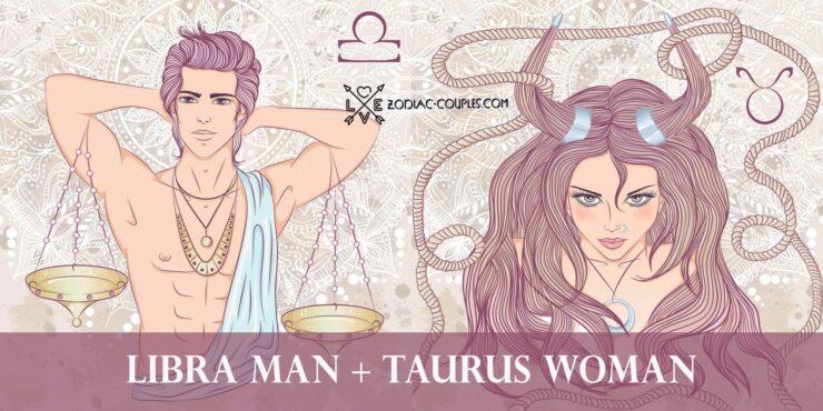 libra man taurus woman
