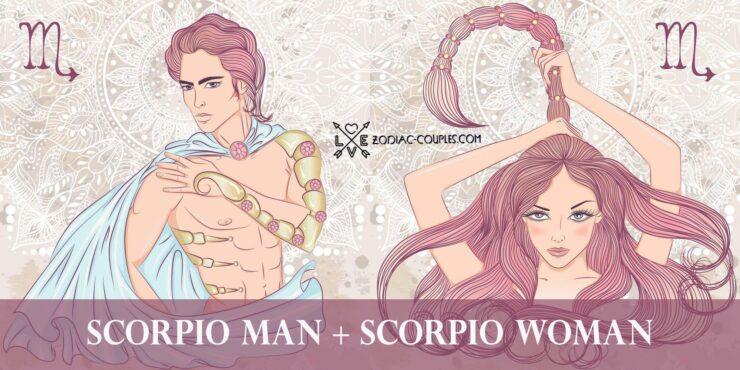 scorpio man scorpio woman