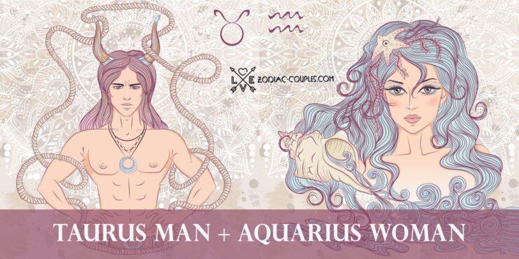 taurus man aquarius woman