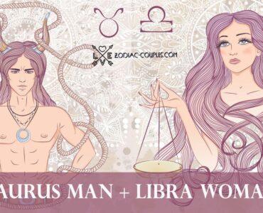 taurus man libra woman