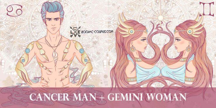cancer man gemini woman