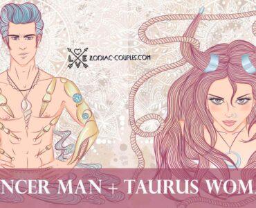 cancer man taurus woman