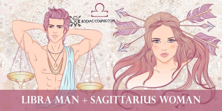 libra man sagittarius woman