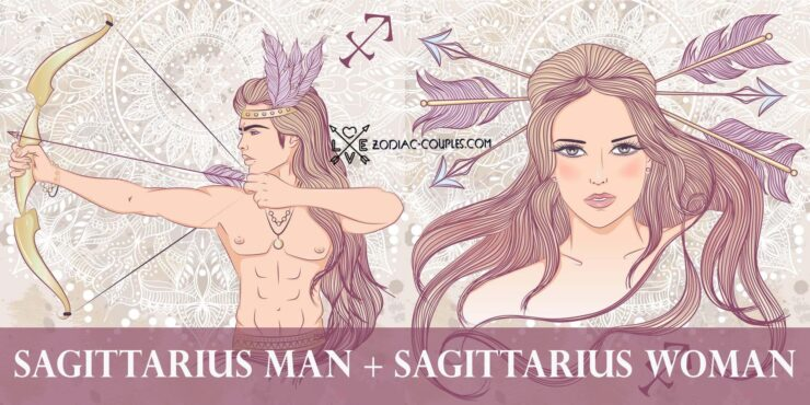 sagittarius man sagittarius woman