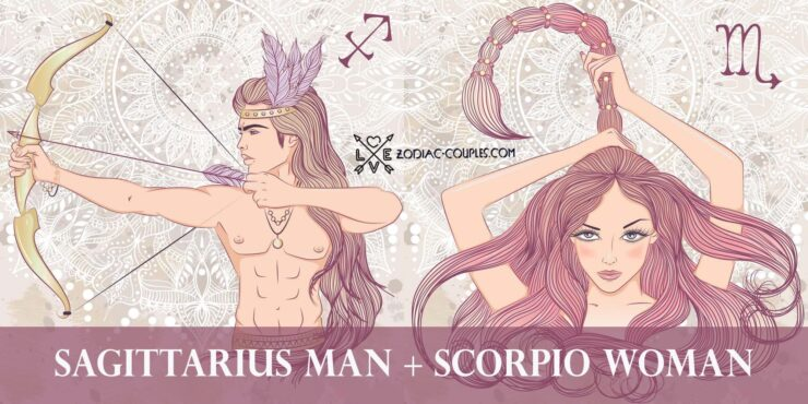 sagittarius man scorpio woman