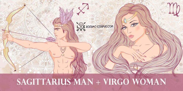 sagittarius man virgo woman