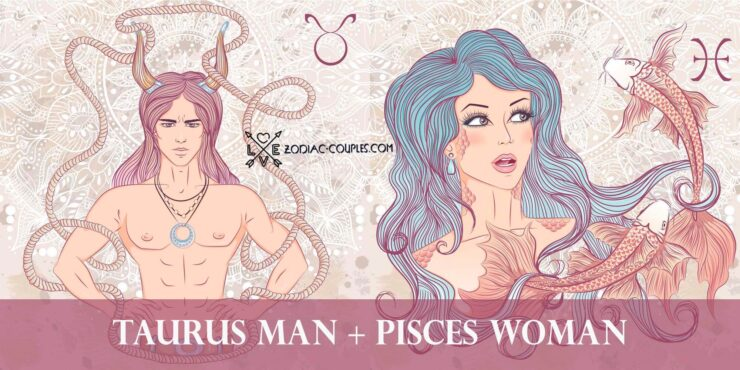 taurus man pisces woman