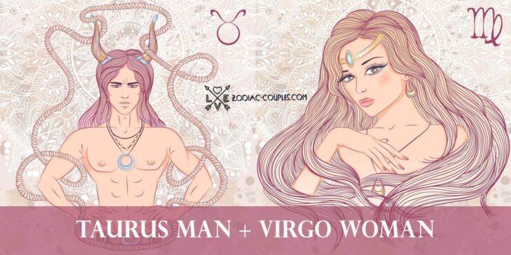 taurus man virgo woman