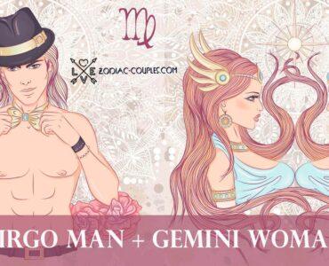 virgo man gemini woman