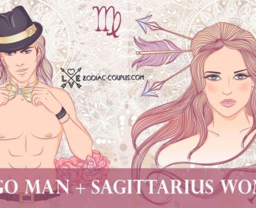 virgo man sagittarius woman