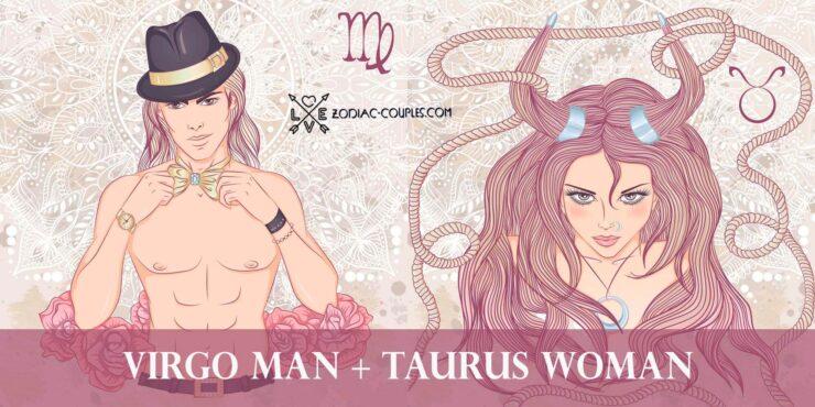 virgo man taurus woman