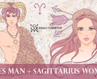 aries man sagittarius woman