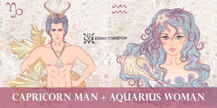 capricorn man aquarius woman
